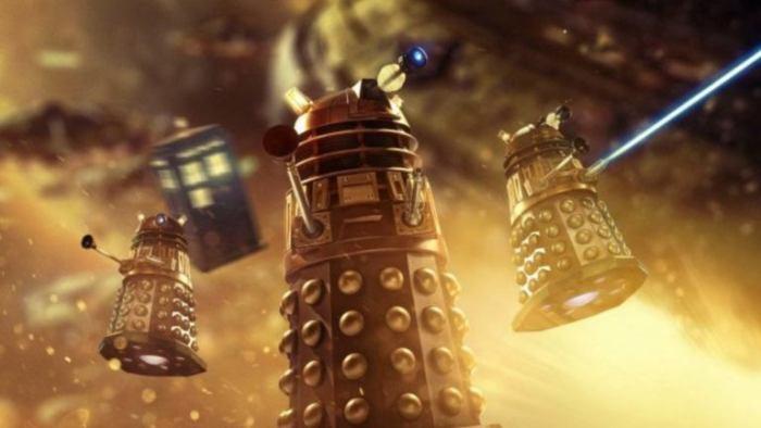 Doctor Who: Revolution of the Daleks. Image: BBC