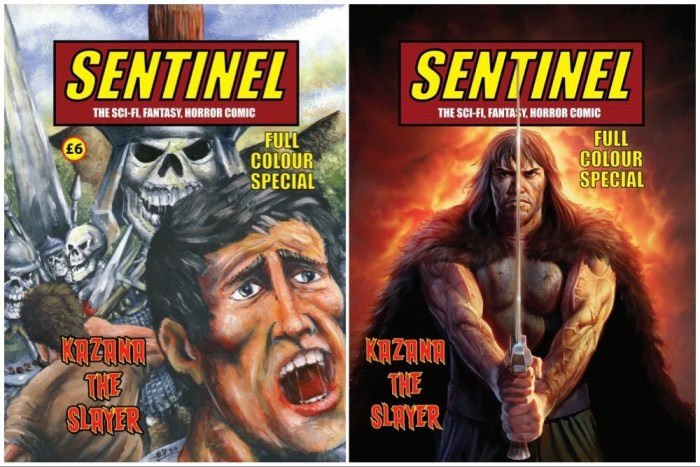 Sentinel #5 - Covers