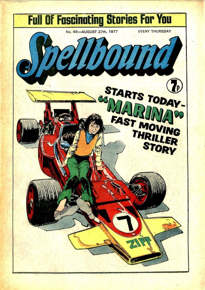 "Spellbound Issue 49 featuring ""Marina"" on the cover"