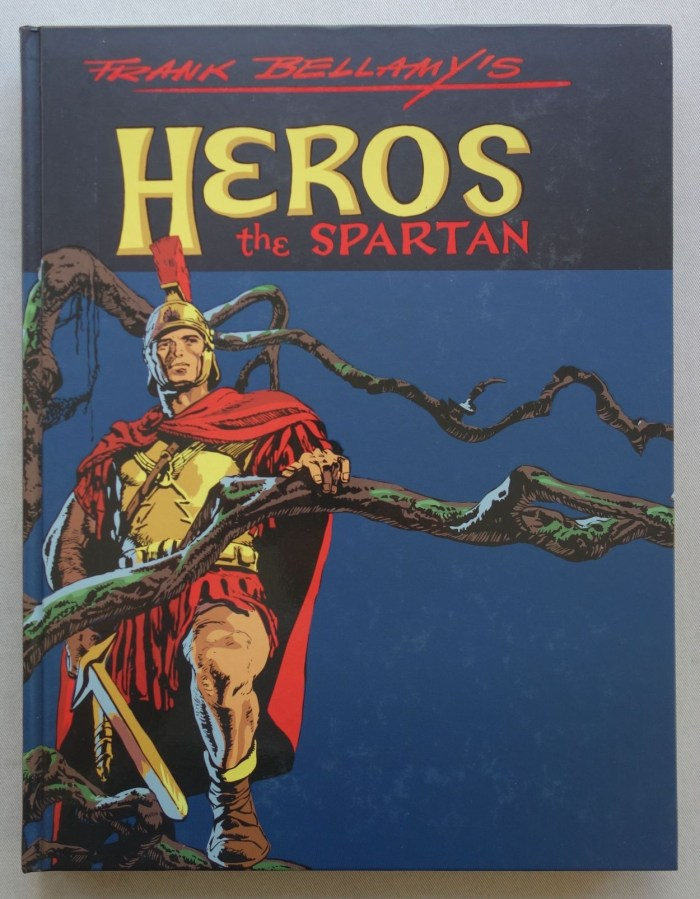 Book Palace - Heros the Spartan by Frank Bellamy