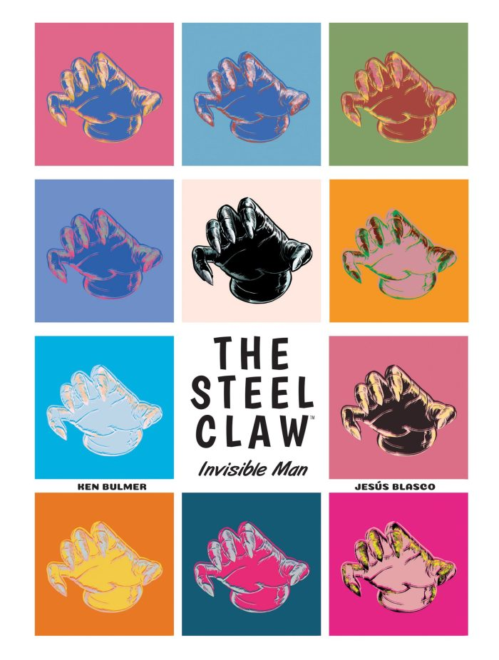 The Steel Claw - Standard Cover