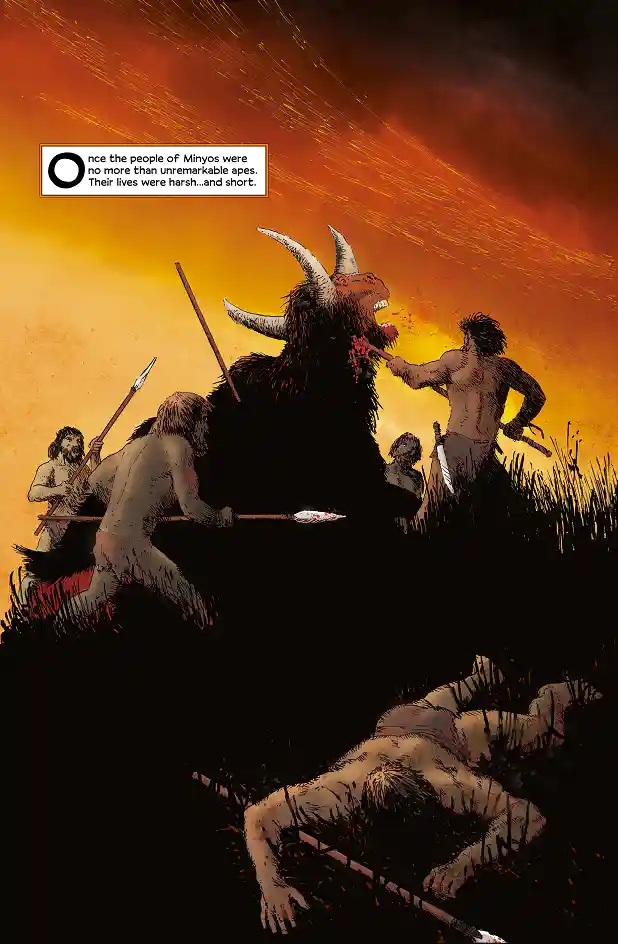 Cutaway Comics - Omega #1 - Sample Page