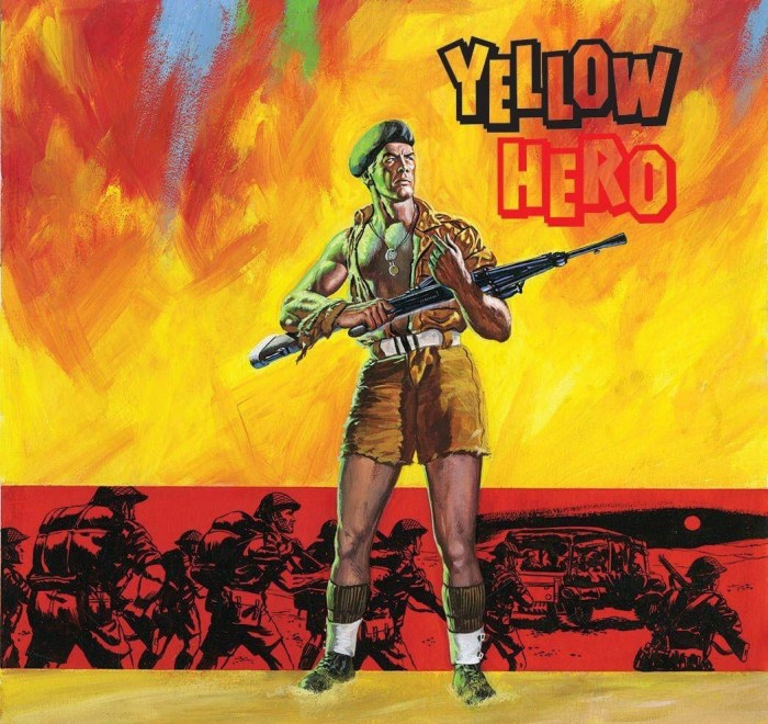 Commando 5388: Gold Collection: Yellow Hero Full Cover