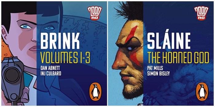 2000AD Penguin Audio Adaptations - Brink and Slaine