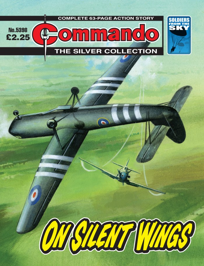 Commando 5398: Silver Collection: On Silent Wings