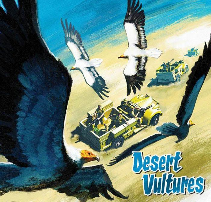 Commando 5391: Home of Heroes: Desert Vultures Full