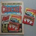 Cracker 3, cover dated 1st February 1975, with free gift - a Facts 'n' Fun Book