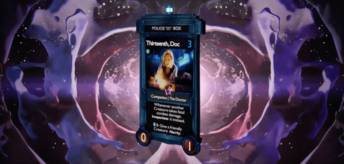 Doctor Who Worlds Apart Pc Game Confirmed For 2021 Digital Trading Cards Available Now Downthetubes Net