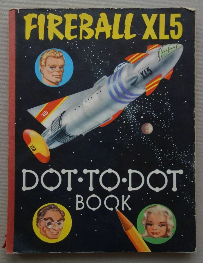 Fireball XL5 Dot to Dot 1966