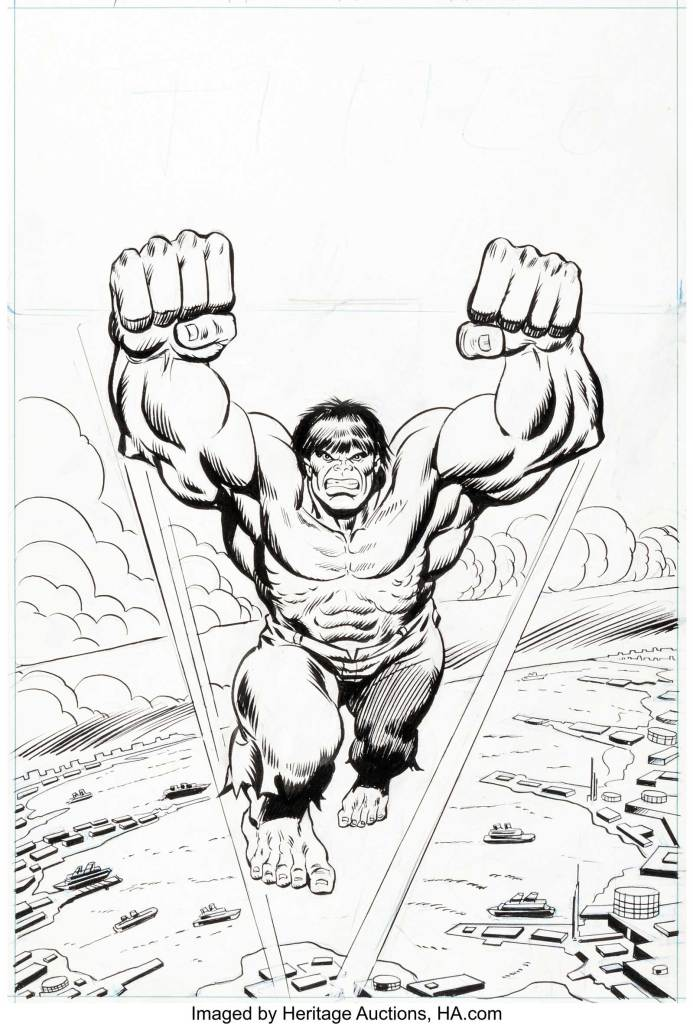 Mighty World of Marvel #175 Cover  by Ron Wilson and Mike Esposito  featuring the Hulk