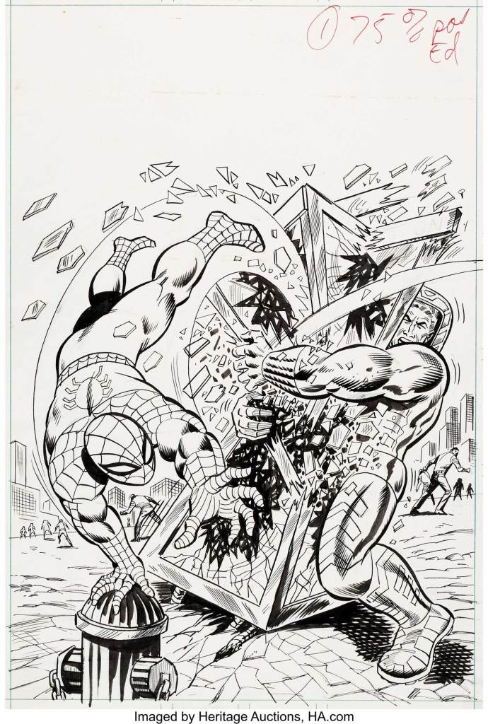 Spider-Man Comics Weekly-55 Cover
