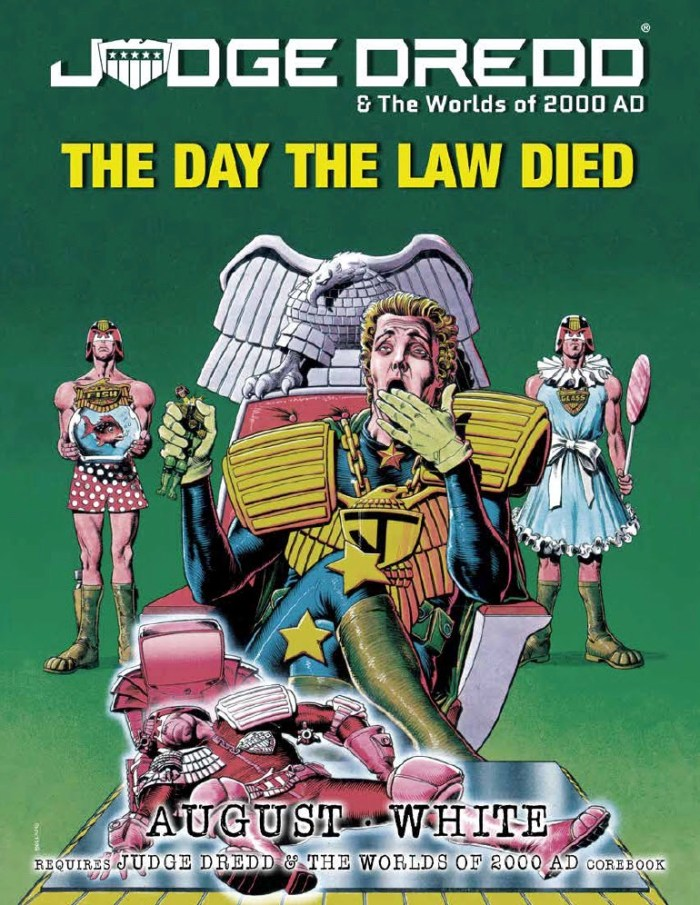 Judge Dredd & The Worlds of 2000AD - The Day the Law Died Source Book