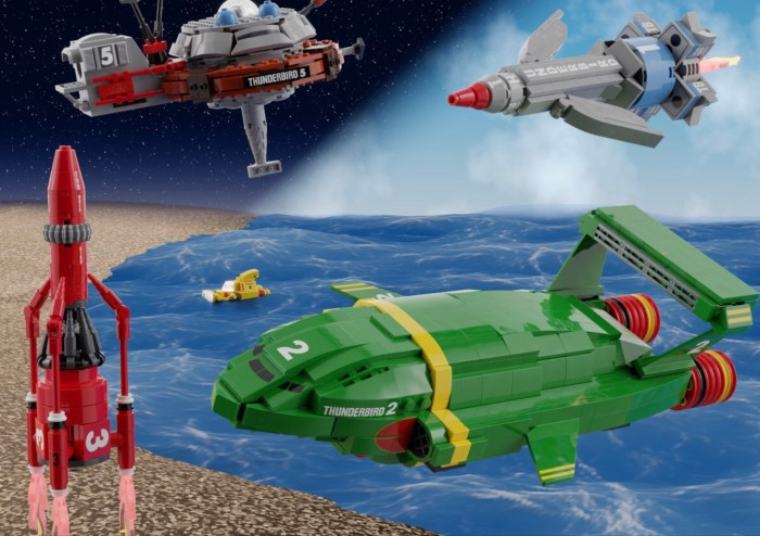 LEGO Classic Thunderbirds by NathanR2015 - Proposal