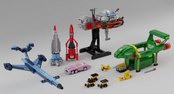 LEGO Classic Thunderbirds by NathanR2015 - Proposed Set