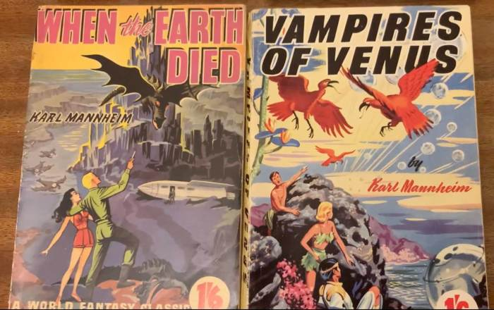 1950s British Science Fiction Episode 10 - Vampires of Venus