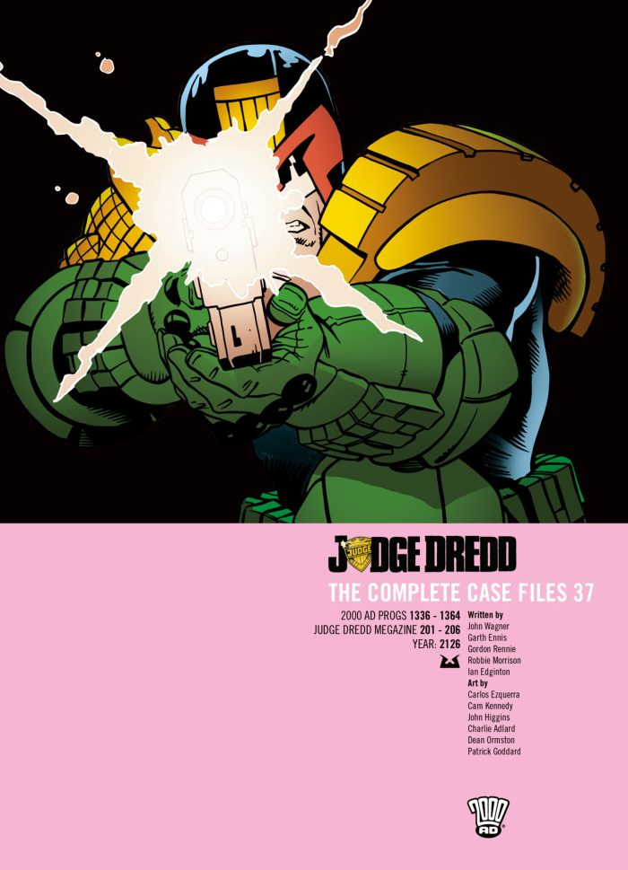 Judge Dredd: The Complete Case Files Vol. 37