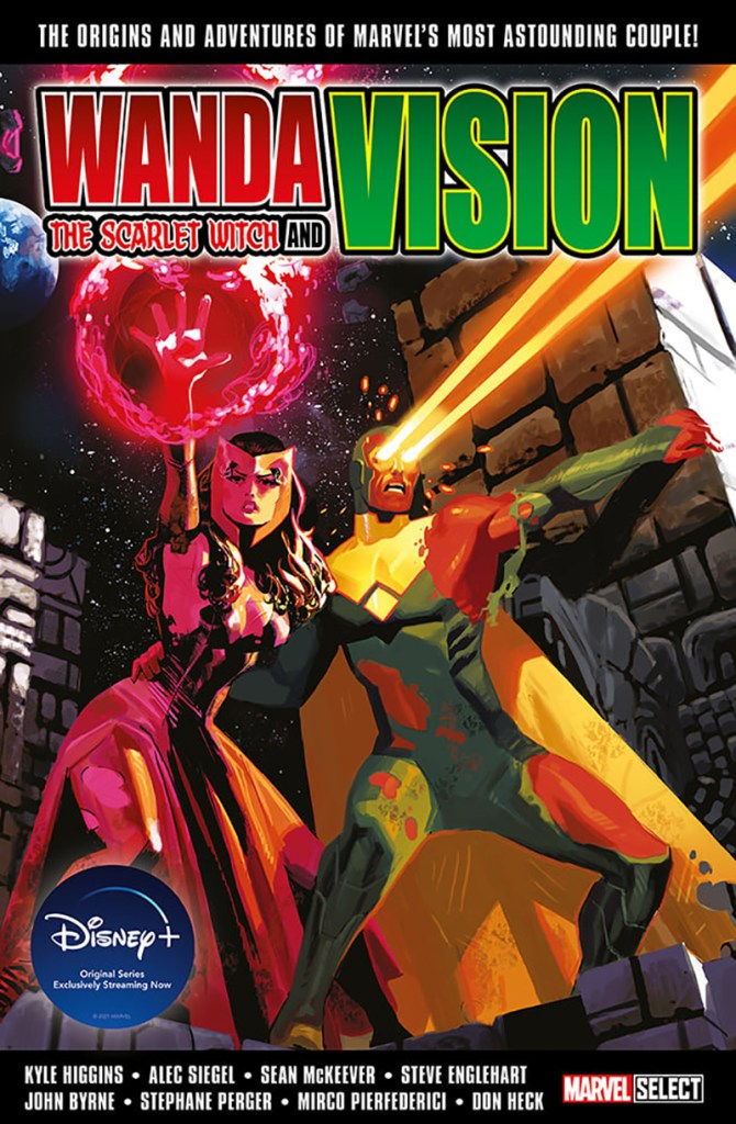 Wanda The Scarlet Witch and Vision Bookazine