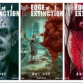 Edge of Extinction Issue Four Variant Covers