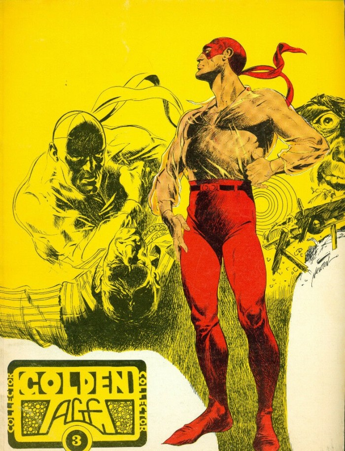 Golden Age Collector #3 - Cover by Don Newton