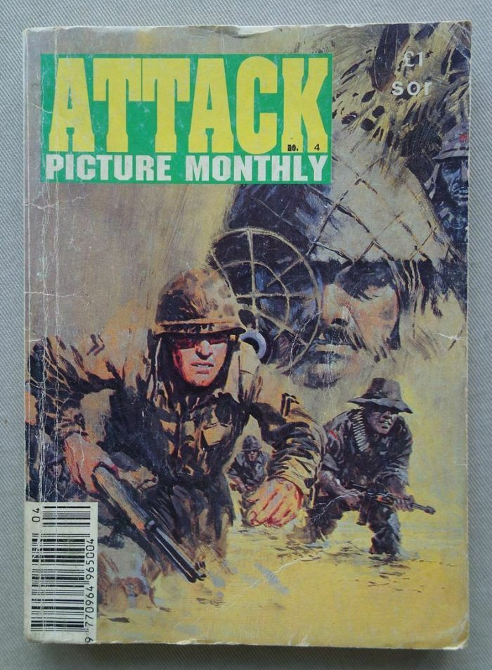 Attack Picture Monthly Issue 4 - 1992