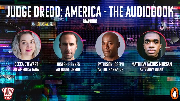 2000AD Audio Drama - Judge Dredd - America