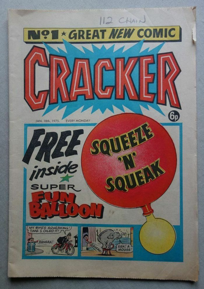Cracker No. 1 - cover dated 18th January 1975