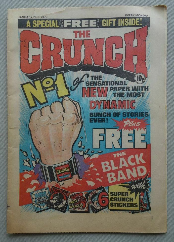 Crunch No. 1 - cover dated 20th January 1979