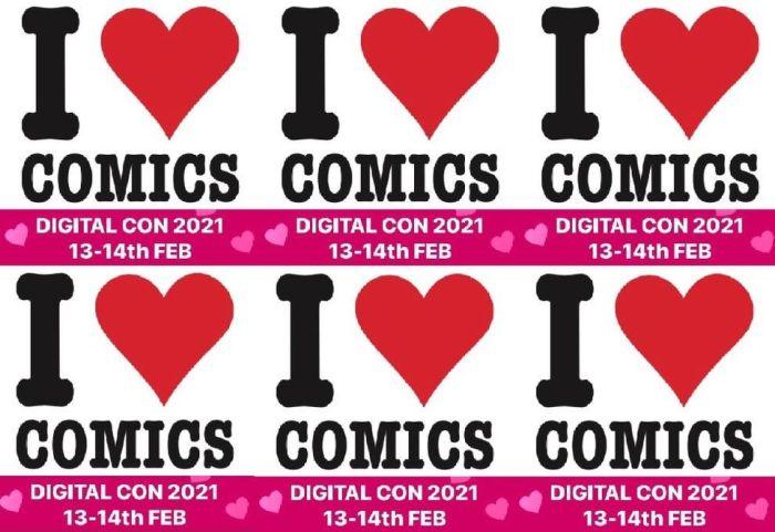 I Love Comics Digital Con 2021