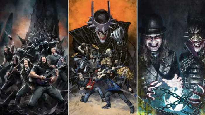 Dark Nights: Death Metal – Band Edition - Montage