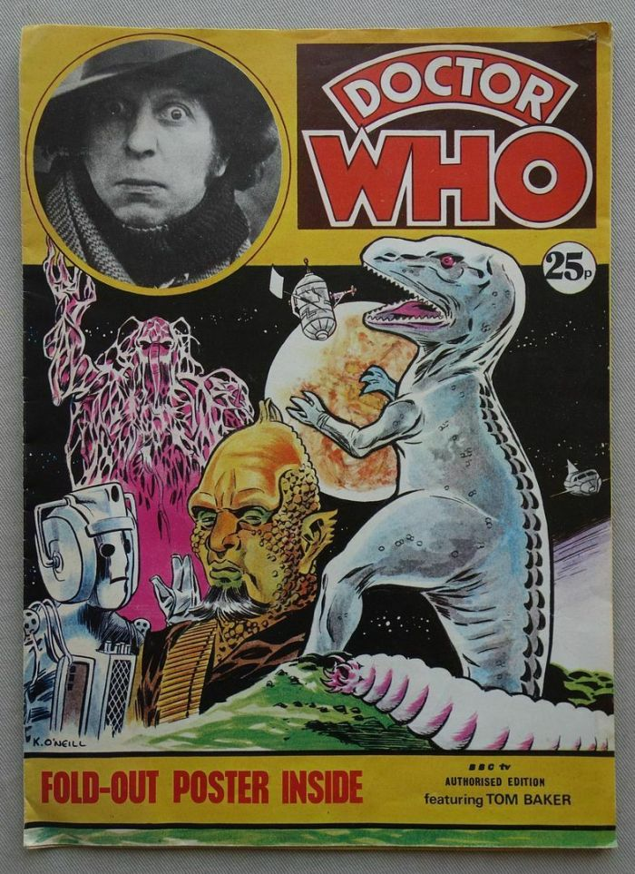 Doctor Who Poster Magazine (1970s)