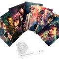 Doctor Who: Postcard Pack: Alice X Zhang Artwork Set II