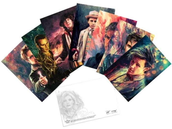 Doctor Who: Postcard Pack: Alice X Zhang Artwork Set II