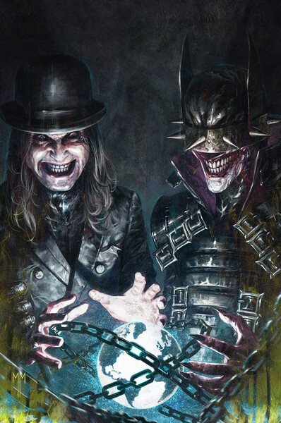 Dark Nights: Death Metal – Band Edition Issue #7 - Ozzy Osbourne cover by Marco Mastrazzo
