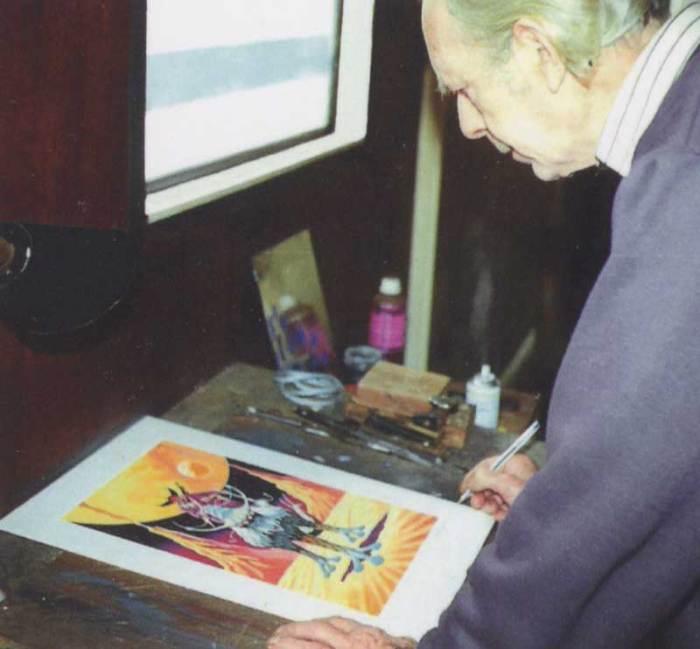 Ron Turner in 1993. Photo © John Lawrence
