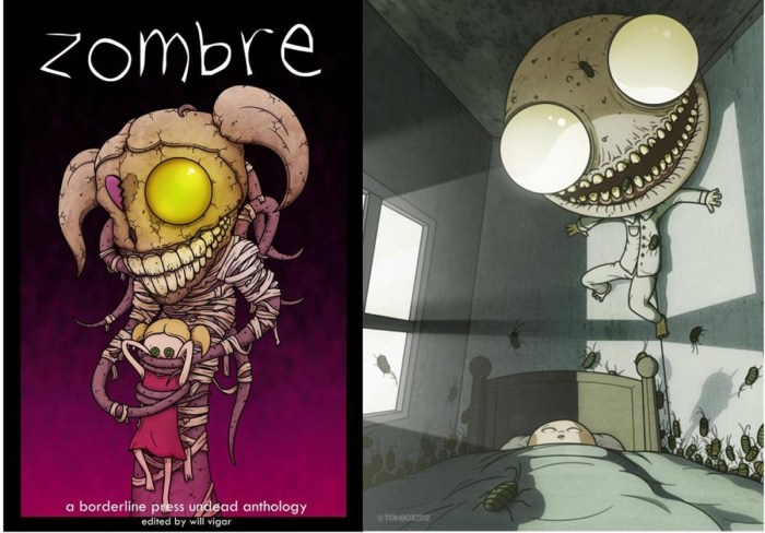 Zombre - Borderline Press
