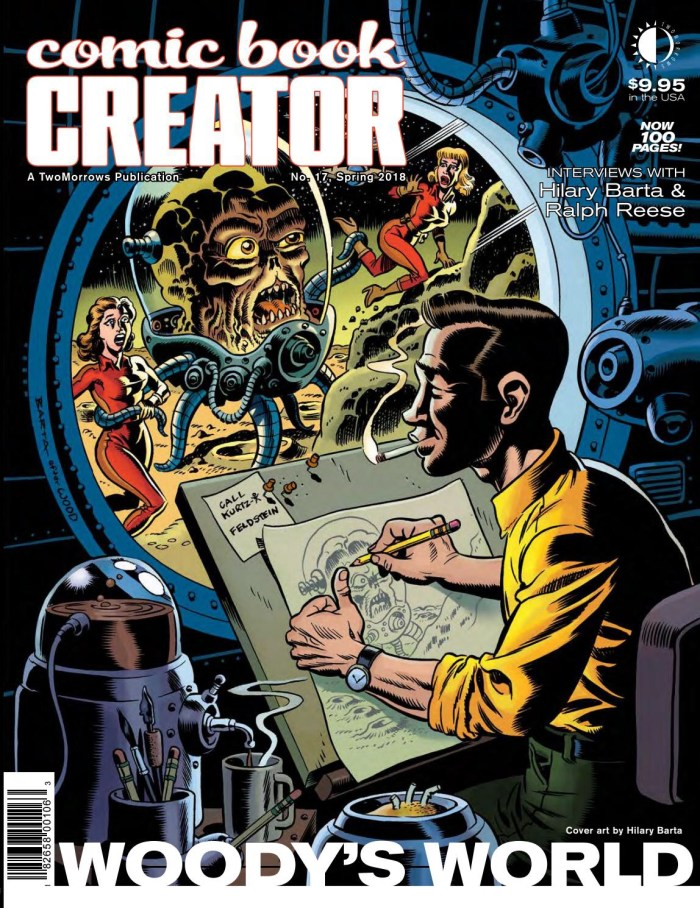 Comic Book Creator #17 - Cover