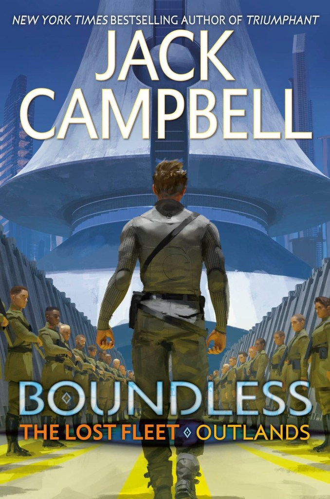 The Ace cover for Boundless - The Lost Fleet - Outlands