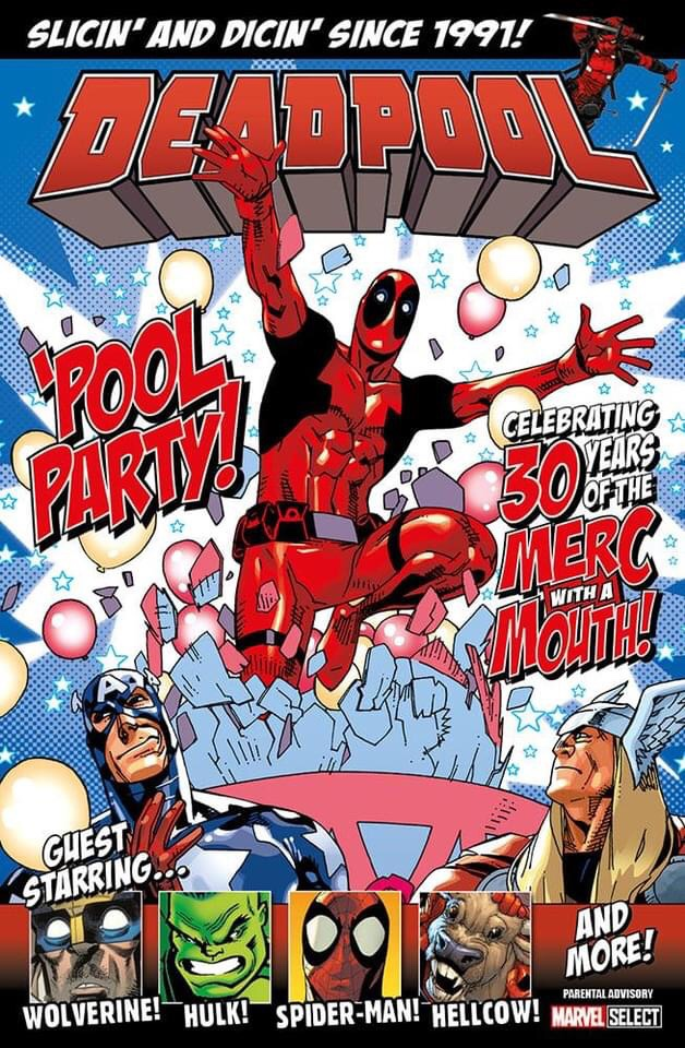 Deadpool: Pool Party! Cover