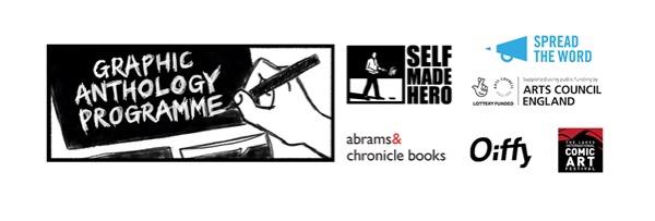 SelfMadeHero - Graphic Anthology Programme Partners