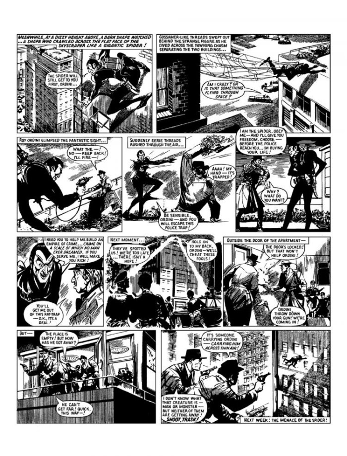 he Spider's Syndicate of Crime Collection - Sample Strip