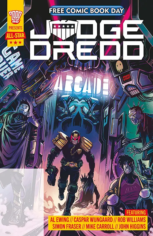 Free Comic Book Day 2021 - 2000AD Presents All Star Judge Dredd
