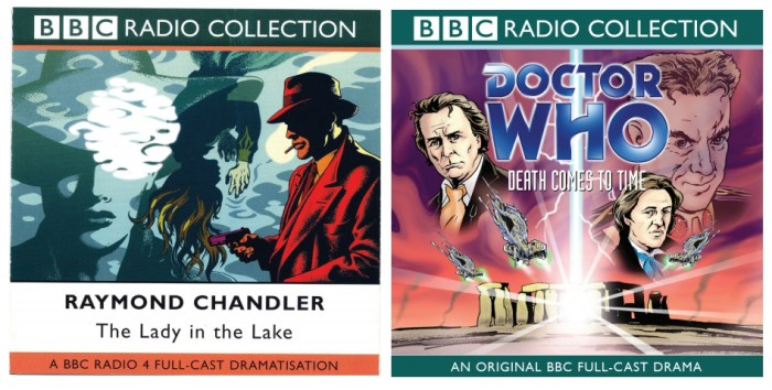 BBC Radio Collection covers by Garry Leach and Lee Sullivan