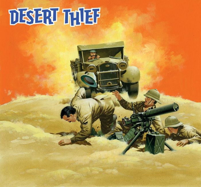 Commando 5422: Silver Collection - Desert Thief - Full