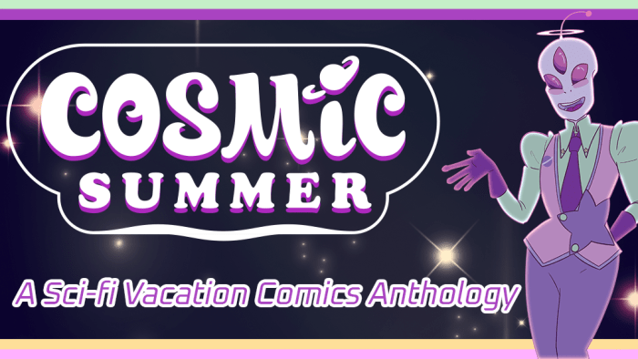 Cosmic Summer - A Sci-Fi Vacation Anthology