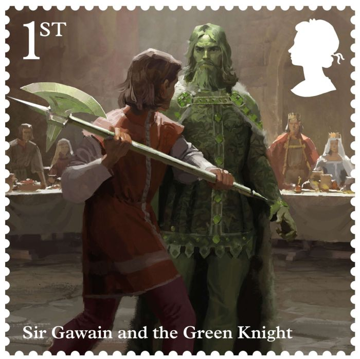 """Royal Mail """"The Legend of King Arthur"""" stamps by Jaime Jones"""