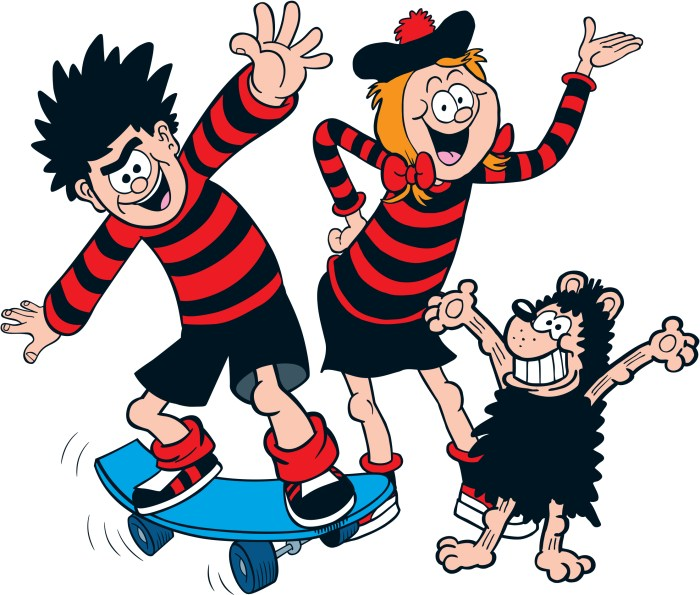 Beano: The Art of Breaking the Rules - Dennis, Minnie and Gnasher