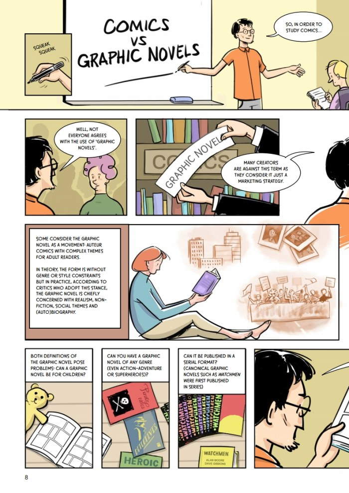 Oxford Comics Network & TORCH A Graphic Introduction to Comics Studies - Sample Art