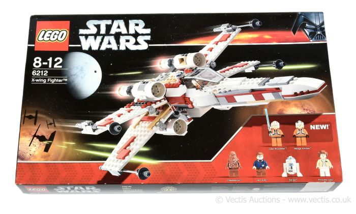Lego Star Wars set number 6212 X-Wing Fighter
