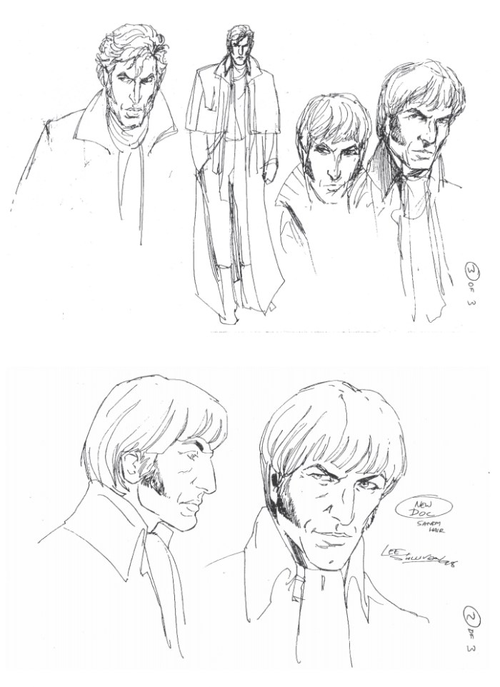 Revised designs for the new Doctor by Lee Sullivan