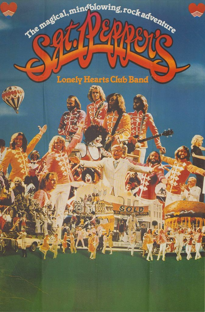 Sgt. Pepper's Lonely Hearts Club Band (1978) - Film Poster